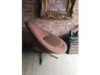 SWIVEL ARMCHAIR 1960s FREE DELIVERY CHAIR SUPER COMFORTABLE