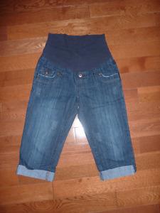 Pantalons 3/4 de maternité xs