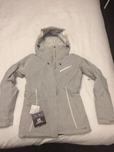 Ladies Salomon fantasy ski jacket