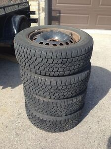Winter Tires with Rims    225/60R16