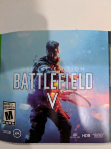 Battlefield V deluxe edition xbox one trade