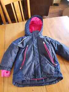 H&M Girls Winter Jacket 3-4yrs Peterborough Peterborough Area image 1