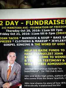 2 DAY FUND RAISER
