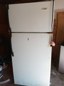 White Westinghouse fridge