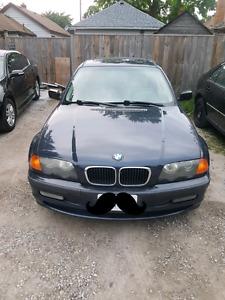 1999 BMW 323i 4 dr inline 6 cyl 2.5l