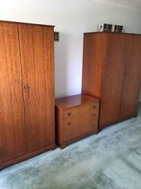 Complete set of bedroom furniture. See pics