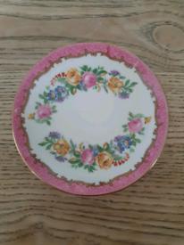 Crown Staffordshire Vintage Fine Bone China Pin / Trinket Dish