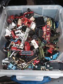 Box of cars