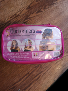 Curl formers hair curlers