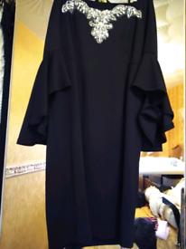 Black dress vgc