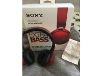 Sony MDR-XB650BT Wireless Headphones.