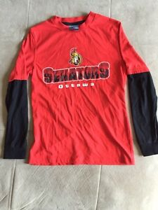 NHL Senators Long Sleeve Kids Shirt