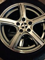 16 inch vw/Audi rims 5x112 with tires