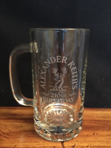 Alexander Keith's India Pale Ale drinking glass/stein