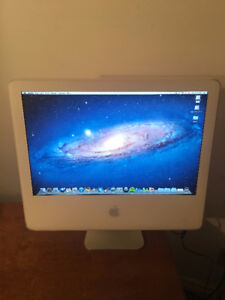 "20"" White iMac (Good Condition)"