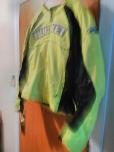 JOE ROCKET JACKET WITH ARMOUR SIZE L WORN ONLY 2 TIMES Windsor Region Ontario image 4