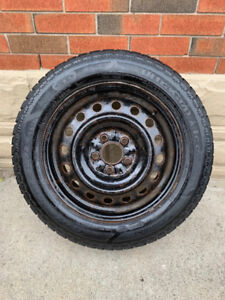 GOODYEAR ULTRA GRIP ICE WINTER TIRES ON RIMS - 205/60R16 92T