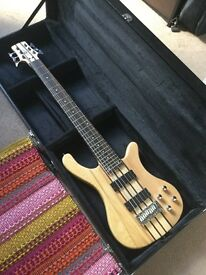 Oregon 6 String Neck Thru Bass Guitar (PROJECT GUITAR - READ DESCRIPTION)
