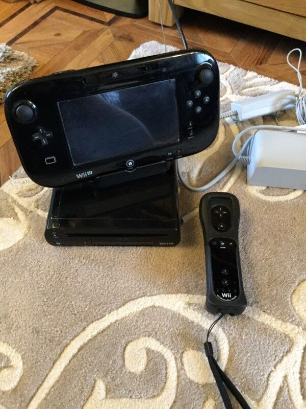 Wii U with all cables and wires, will come boxed