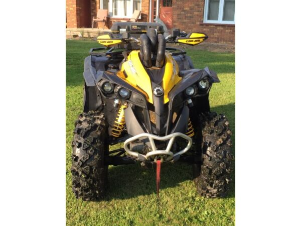 Used 2012 Can-Am renegade 800 xxc