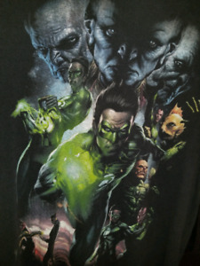 Authentic vintage- Movie Green Lantern - shirt- small - TM & DC