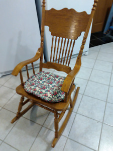 Wooden Rocking chair Solid oak