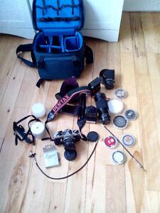 Pentax ME super SLR camera