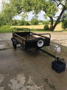 Used - 4x 8 Utility trailer