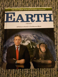 Earth Visitor's Guide Daily Show with Jon Stewart Hardcover