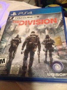 PS4 The Division for sale or trade