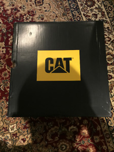 men's caterpillar safety shoes brand new in box