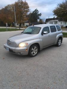 2006 Chevrolet HHR LT 4 door with mounted winter tires.