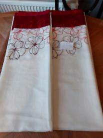 Voil curtains 46 x 60 £5