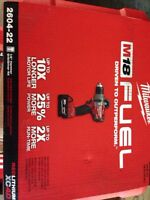 Milwaukee fuel 18v hammers drill driver