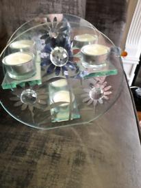 2 tea light holders