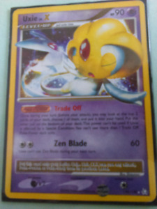 Carte pokemon Uxie X