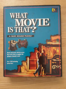"""Buffalo """"What Movie is That?"""" quiz jigsaw puzzle, new, sealed"""