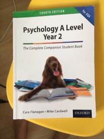 AQA Psychology A Level Year 2 (Flanagan & Cardwell) 4th Edition