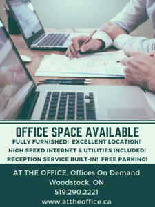 FURNISHED OFFICES & VIRTUAL OFFICES AVAILABLE!