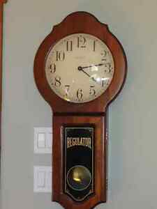 Verichron Regulator Clock Made in USA (Bancroft)
