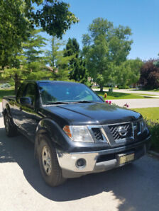 2011 Nissan Frontier truck, low kms., one owner
