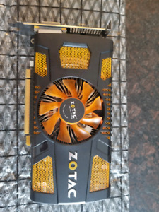 Zotac GTX560 1GB 256BIT GDDR5 graphics card
