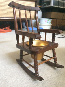 Coin holder Rocking chair