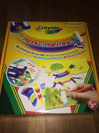 CRAYOLA Paddle Painting Kit