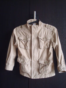 Aviator Style Fall Jacket. Gymboree Size 5-6