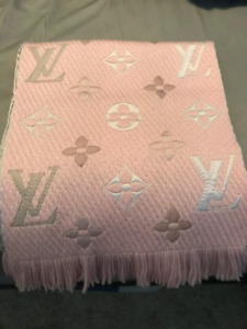 Authentic Louis Vuitton Rainbow logomania scarf
