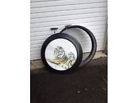 Pajero etc spare wheel cover