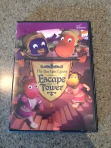Backyardigans Escape From the Tower DVD