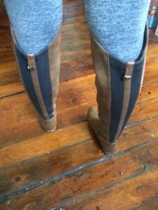 Knee high brown leather boots from Spring.  Peterborough Peterborough Area image 3
