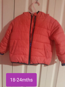 Jacket size 18-24mths